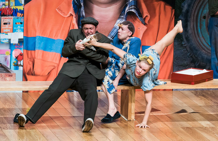 A scene from Shukshin's Stories by Theatre of Nations at the Barbican. Photo: Tristram Kenton