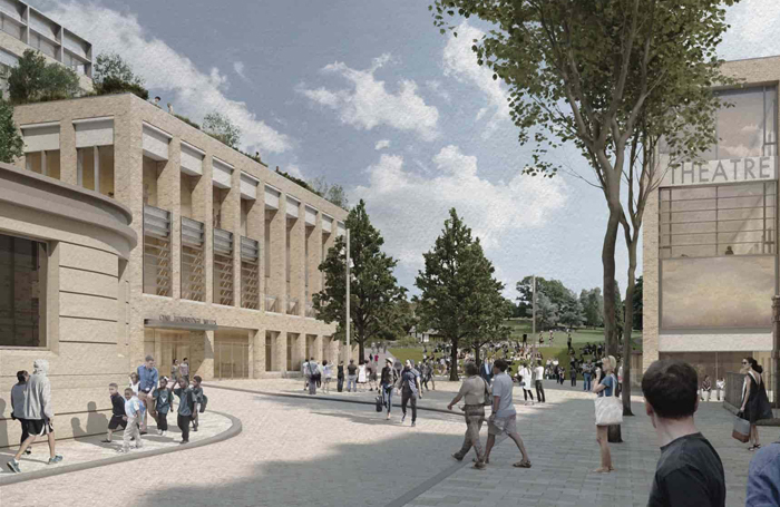 An artist's impression of the £90 million complex in Tunbridge Wells