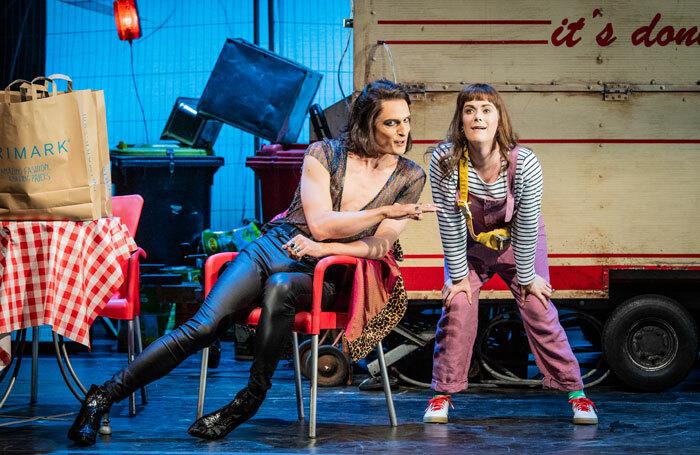 Quirijn de Lang and WNO associate artist Harriet Eyley in Don Pasquale. Photo: Robert Workman