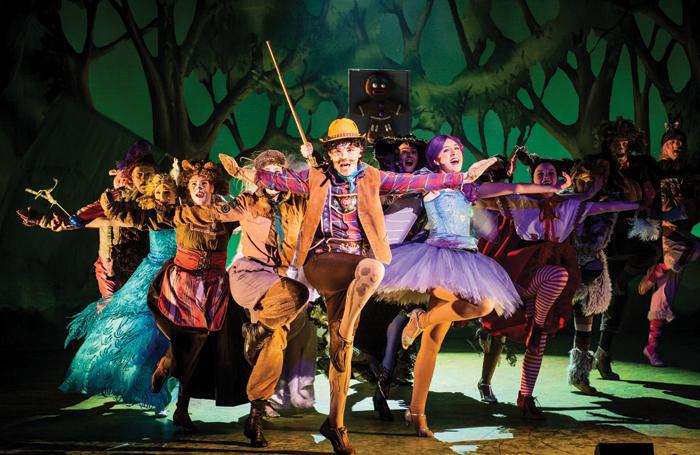 Guildford School of Acting students performing. Photo: Robert Workman