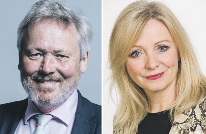 Giles Watling and Tracy Brabin. Photos: Chris McAndrew / UK Parliament/Gus Campbell