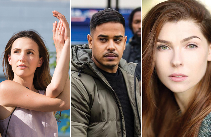 From left: Yoga teacher Adriene Mishler, actor Mim Shaikh and actor and writer Milly Thomas all give their advice