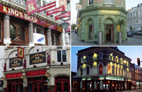 London's pub theatres to be celebrated in dedicated award