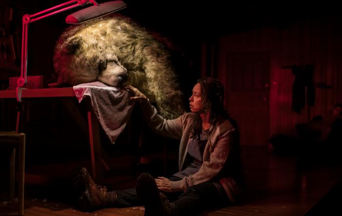 Christine Entwisle in The Monstrous Heart at the Traverse Theatre. Photo: Mihaela Bodlovic
