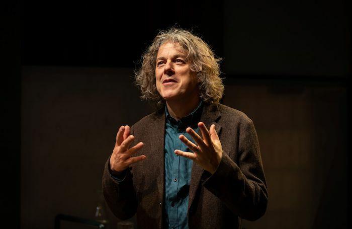 Alan Davies in God's Dice at Soho Theatre. Photo: Helen Maybanks