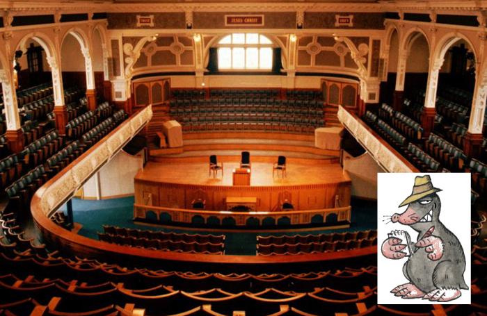 Bolton's Victoria Halls, under calmer circumstances. Photo: Wiki