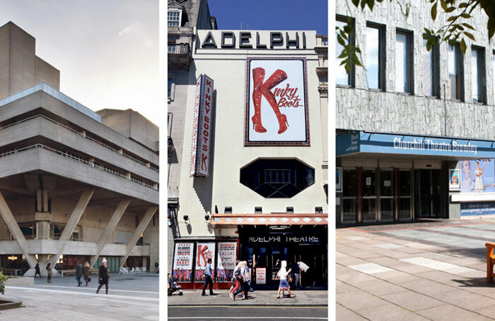 Theatres looking at paperless options for the future include the National (photo: Philip Vile), the Adelphi (photo: Shutterstock) and the Churchill Theatre in Bromley