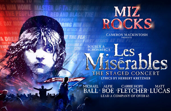 West End Les Misérables concert to be broadcast in cinemas