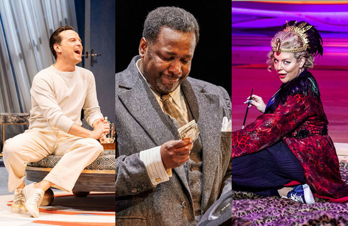 Andrew Scott, Wendell Pierce and Sheridan Smith have all been nominated for this year's Evening Standard Theatre Awards