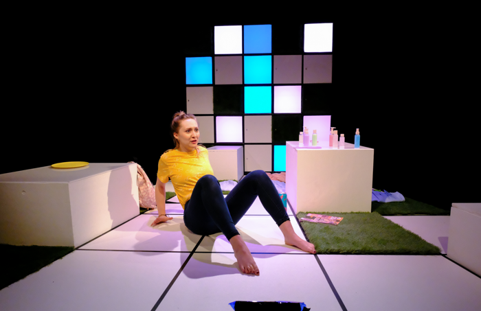 Robyn Wilson in Easy at Blue Elephant Theatre, London. Photo: Will Alder
