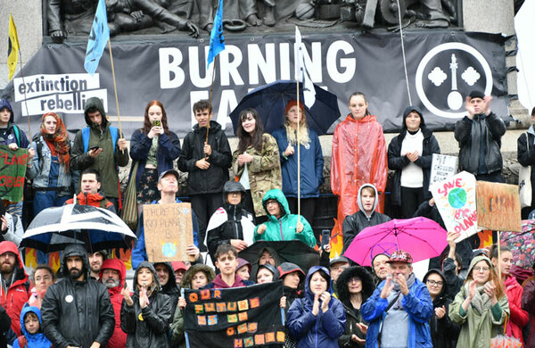 Poppy Burton-Morgan: The six most theatrical moments of the Extinction Rebellion protests