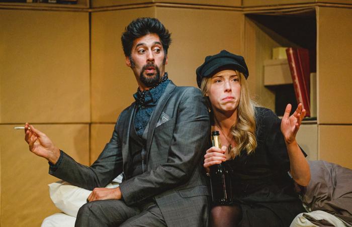 Robert Mountford and Hannah Morrish in All's Well That Ends Well at Jermyn Street Theatre, London. Photo: Matt Pereira