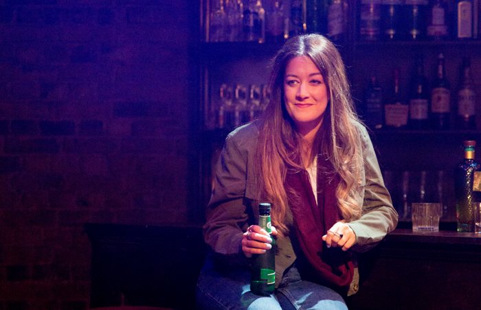 Julie Atherton in The Green Fairy at Union Theatre, London. Photo: Jack Sain
