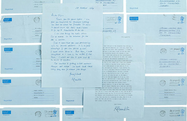 Kenneth Williams letter calling Alan Ayckbourn's work 'rubbish' goes up for auction