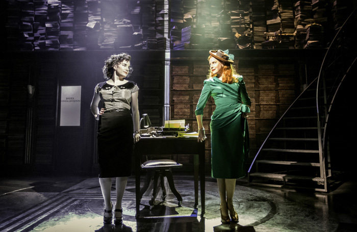 Rebecca Trehearn and Rosalie Craig in the original production of City of Angels. Photo: Johan Persson
