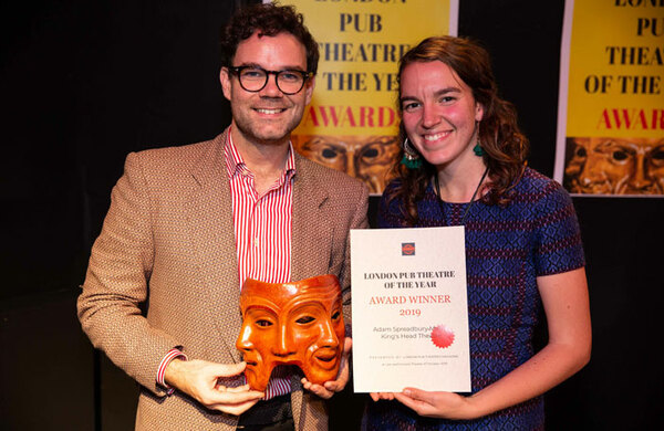 King's Head wins inaugural London Pub Theatre of the Year award