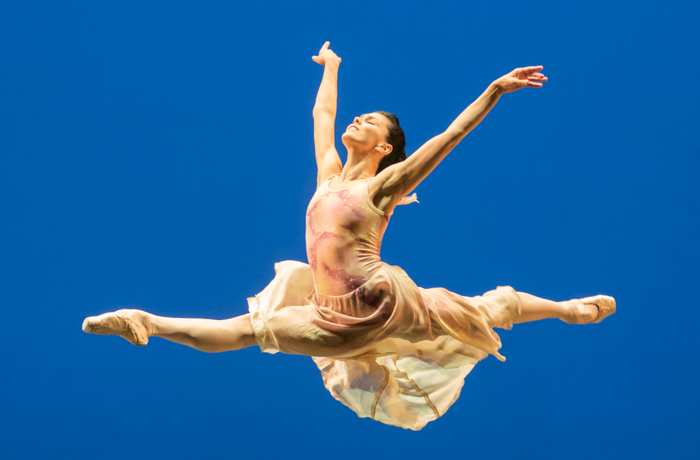 Natalia Osipova in The Leaves Are Fading at Sadler's Wells, London. Photo: Johan Persson