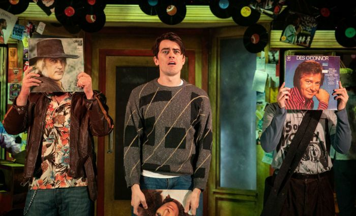 Oliver Ormson in High Fidelity at the Turbine Theatre, London. Photo: Mark Senior