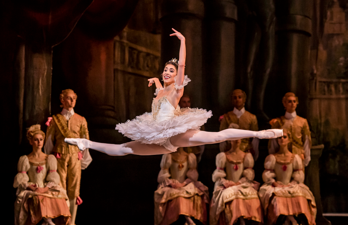 Yasmine Naghdi in Sleeping Beauty at Royal Opera House, London. Photo: Tristram Kenton