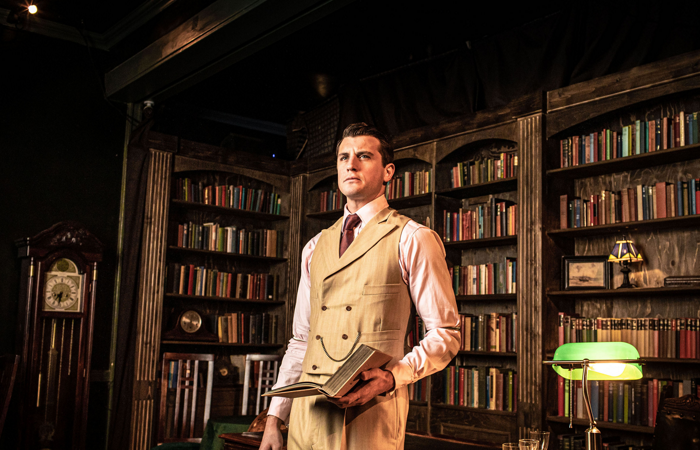 Oliver Towse in The Great Gatsby. Photo: Helen Maybanks