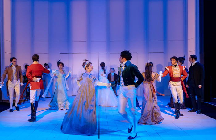 The company of The Watsons at Minerva Theatre, Chichester. Photo: Manuel Harlan