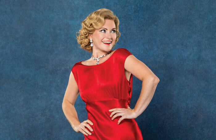 Clare Halse as Judy Haynes in White Christmas. Photo: Oliver Rosser