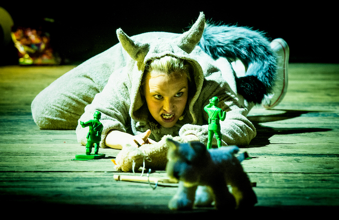 Rhian Lois in Where the Wild Things Are by Shadwell Opera. Photo: Robert Workman