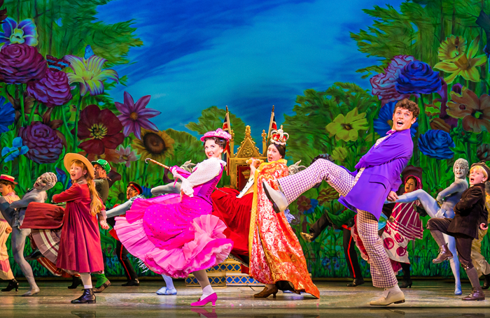 Mary Poppins at the Prince Edward Theatre, London. Photo: Johan Persson