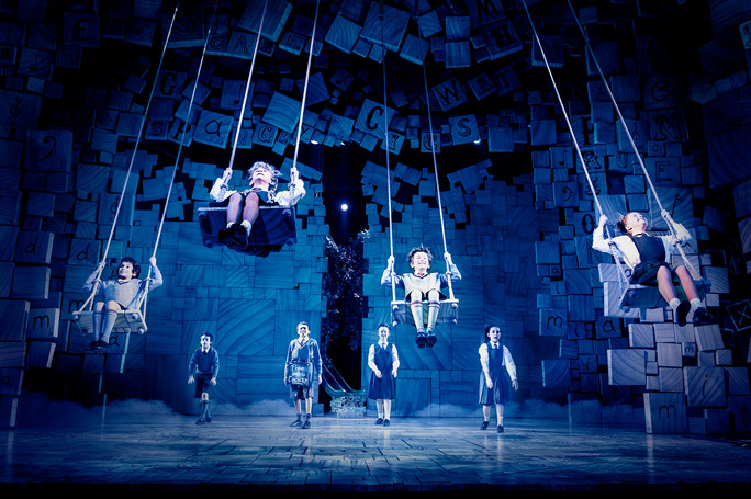 The Royal Shakespeare Company's Matilda the Musical. Photo: Manuel Harlan