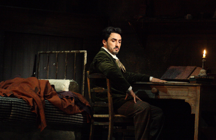 Charles Castronovo singing the role of Rodolfo in a previous production of La Boheme in 2014. Credit: Royal Opera House