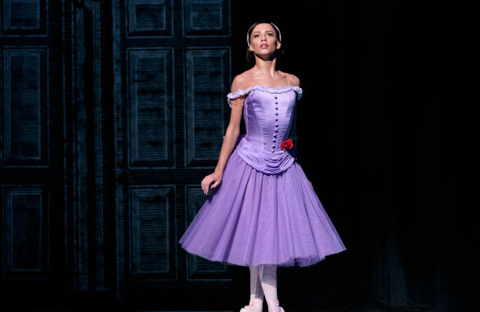 Francesca Hayward as Alice at the Royal Ballet. Photo: Bill Cooper