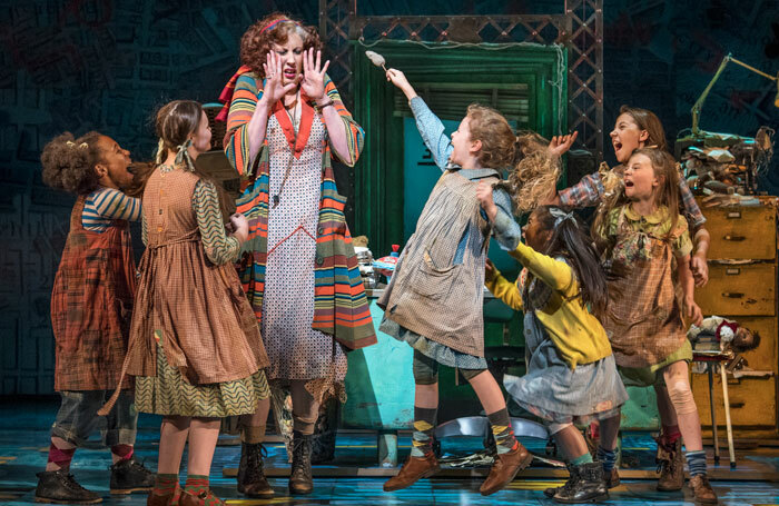 Annie at Piccadilly Theatre starring Miranda Hart – review round-up