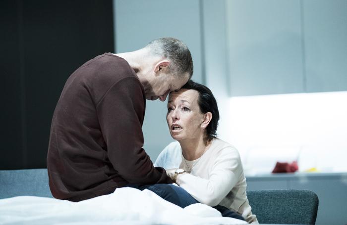 Hans Kesting and Marieke Heebink in Internationaal Theater Amsterdam's Oedipus. Photo: Jan Versweyveld