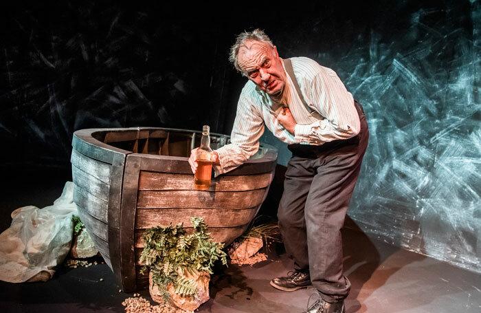 Malcolm Rennie in Shackleton's Carpenter at Jermyn Street Theatre. Photo: Tristram Kenton