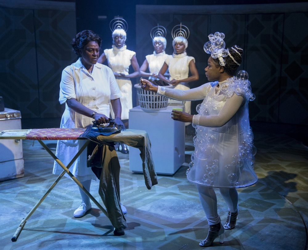 Sharon D Clarke in Caroline, or Change. Photo: Alastair Muir