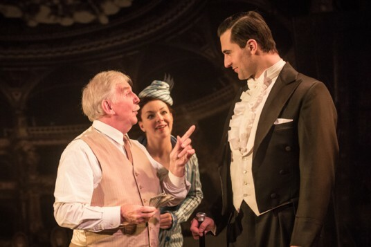 Funny Girl - Maurice Lane (Mr Keeney), Sheridan Smith (Fanny Brice), Darius Campbell (Nick Arnstein) by Marc Brenner