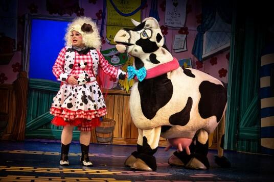 Peter Gordon as Dame Dolly Trott