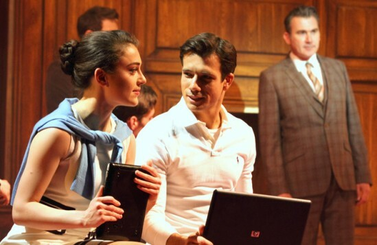 legally blonde Phoene Street as Vivienne and Danny Mac as Warner Photo Catherine Ashmore