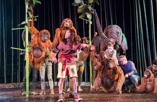 Ava Potter (Lilly) in Running Wild by Michael Morpurgo @ Open air Theatre, Regent's Park. Directed by Timothy Sheader and Dale Rooks. (Opening-19-05-16) ©Tristram Kenton 05/16 (3 Raveley Street, LONDON NW5 2HX TEL 0207 267 5550  Mob 07973 617 355)email: tristram@tristramkenton.com
