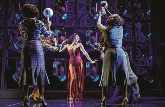 Liisi-LaFontaine-and-the-cast-of-Dreamgirls-at-the-Savoy-Theatre