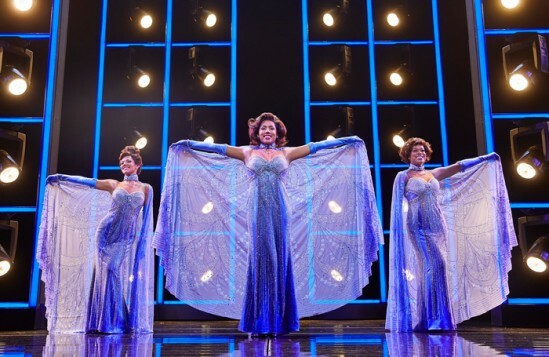 (l-r)-2Lily-Frazer,-Liisi-LaFontaine-and-Ibinabo-Jack-in-Dreamgirls-at-the-Savoy-Theatre