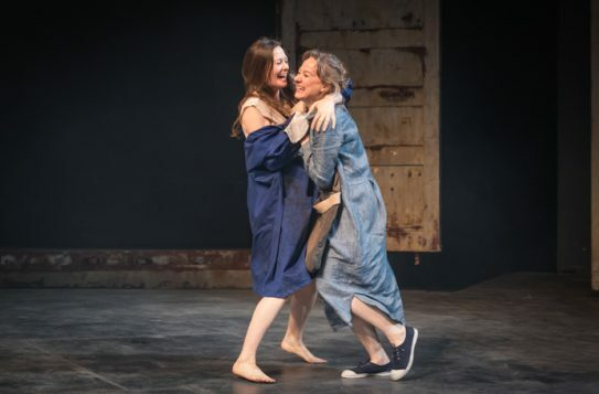 My Brilliant Friend Part 1. Catherine McCormack (Lila) and Niamh Cusack (Lenu). Photo credit Marc Brenner (1)