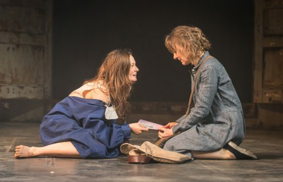 My Brilliant Friend Part 1. Catherine McCormack (Lila) and Niamh Cusack (Lenu). Photo credit Marc Brenner (2)