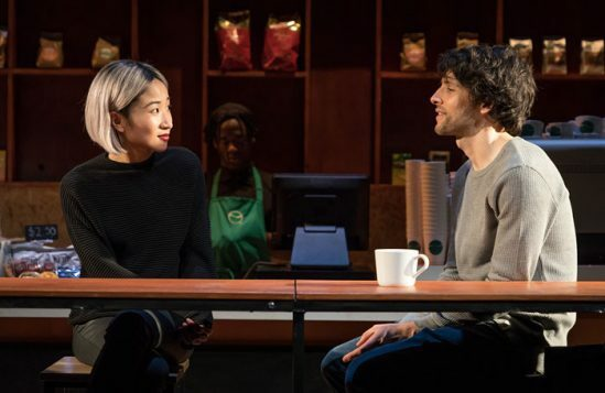 Kae-Alexander-and-Colin-Morgan-in-Gloria-at-Hampstead-Theatre,-photo-by-Marc-Brenner