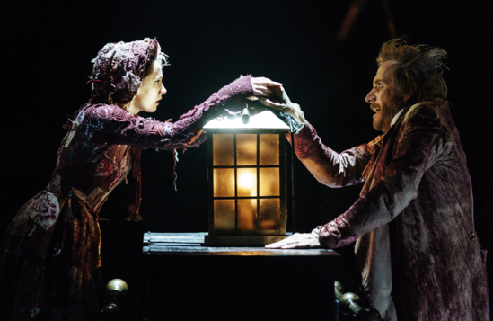 Melissa-Allan-(Little-Fan)-and-Rhys-Ifans-(Ebenezer-Scrooge)-in-A-Christmas-Carol-at-The-Old-Vic