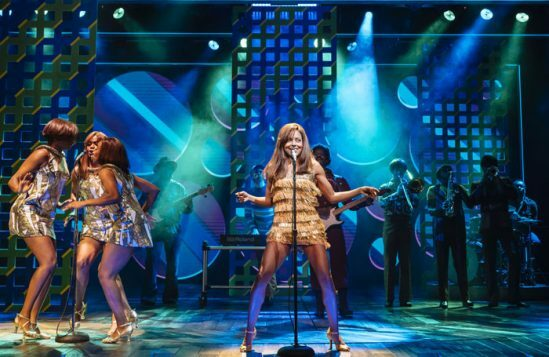 10. centre Adrienne Warren (Tina Turner) and the Cast of Tina. Photo by Manuel Harlan