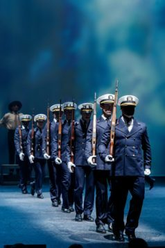6. AN OFFICER AND A GENTLEMAN. The Company. Photo Manuel Harlan
