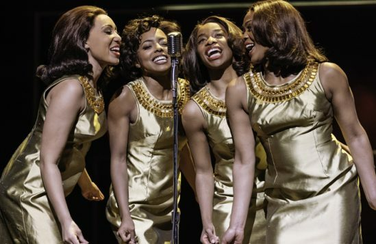 6. l-r Hannah Jay-Allan, Adrienne Warren, Perola Congo and Sia Kiwa (Tina and the Ikettes). Photo by Manuel Harlan