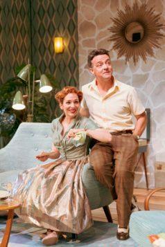 076 Katherine Parkinson as Judy and Richard Harrington as Johnny in Home, I'm Darling (c) Manuel Harlan