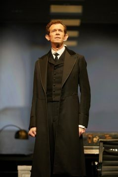 Adam Godley in The Lehman Trilogy at the National Theatre